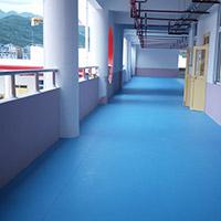 学校室外运动地板